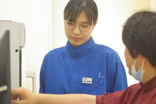 広島歯科技術専門学校 卒業生 山本菜穂子さん