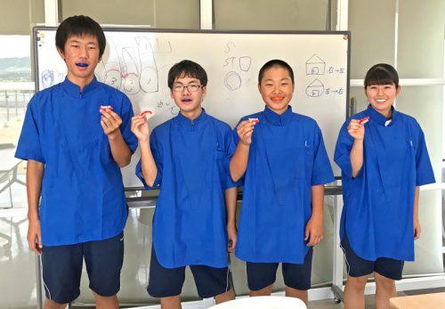 菊陽中学校の生徒さん
